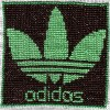 Adidas cross stitch