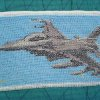 F-16 cross stitch