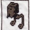 AT-ST star wars cross stitch