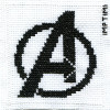 avengers logo cross stitch