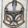 Clone trooper sisak cross stitch