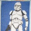 Clone trooper cross stitch