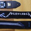 Eugen Varga guitar strap cross stitch