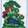 jazz jackrabbit cross stitch