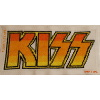 KISS logo cross stitch
