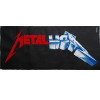metallica logo cross stitch