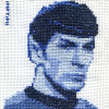mr. spock cross stitch