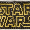 Star wars logo cross stitch